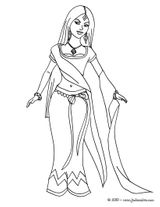 Imprimer le coloriage : Princesse, numéro 142448
