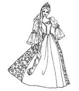 Imprimer le coloriage : Princesse, numéro 253678
