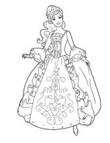 Imprimer le coloriage : Princesse, numéro 2af34943