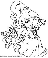 Imprimer le coloriage : Princesse, numéro 3478