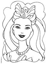 Imprimer le coloriage : Princesse, numéro 4292