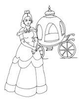 Imprimer le coloriage : Princesse, numéro 459377