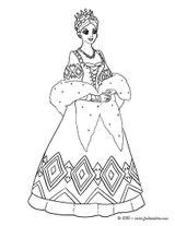 Imprimer le coloriage : Princesse, numéro 4a499e08