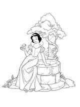 Imprimer le coloriage : Princesse, numéro 55607