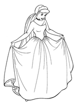 Imprimer le coloriage : Princesse, numéro 55611