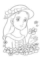 Imprimer le coloriage : Princesse, numéro 676872