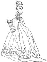 Imprimer le coloriage : Princesse, numéro 760122