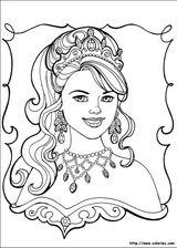 Imprimer le coloriage : Princesse, numéro 8275