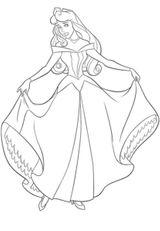 Imprimer le coloriage : Princesse, numéro 8286