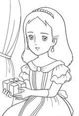 Imprimer le coloriage : Princesse, numéro 8291