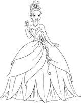 Imprimer le coloriage : Princesse, numéro 89d548a9
