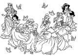 Imprimer le coloriage : Princesse, numéro ab291df1