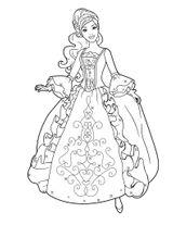 Imprimer le coloriage : Princesse, numéro ace69d7a