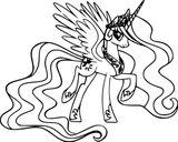 Imprimer le coloriage : Princesse, numéro ae709e1d