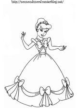 Imprimer le coloriage : Princesse, numéro cb28aabb