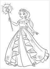 Imprimer le coloriage : Princesse, numéro fb8b5619