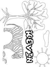 Imprimer le coloriage : Prénoms, numéro 143555