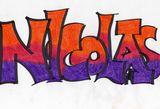 Imprimer le dessin en couleurs : Prénoms, numéro 670895