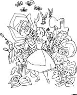 Imprimer le coloriage : Alice, numéro dc1ff1dd