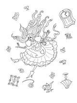 Imprimer le coloriage : Alice, numéro dced8efa