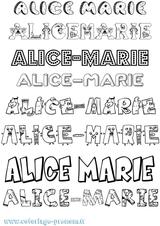 Imprimer le coloriage : Alice, numéro f30127fd