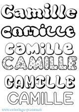 Imprimer le coloriage : Camille, numéro 3a36a1ff