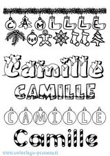 Imprimer le coloriage : Camille, numéro e57804c9