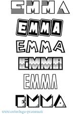 Imprimer le coloriage : Emma, numéro 25154f9c