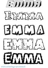 Imprimer le coloriage : Emma, numéro d418d836