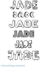 Imprimer le coloriage : Jade, numéro 509da51