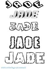 Imprimer le coloriage : Jade, numéro 7c3d8118