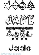 Imprimer le coloriage : Jade, numéro acc9ee84