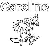 Imprimer le coloriage : Léa, numéro d58f2780