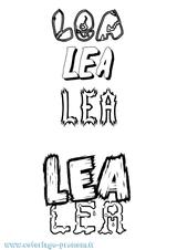 Imprimer le coloriage : Léa, numéro e59609c5