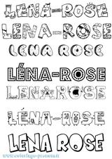 Imprimer le coloriage : Léna, numéro 40fc6206