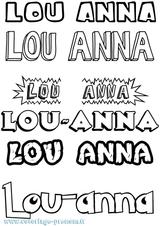 Imprimer le coloriage : Lilou, numéro 14e90f04