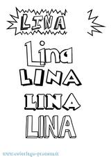 Imprimer le coloriage : Lina, numéro 254d4188