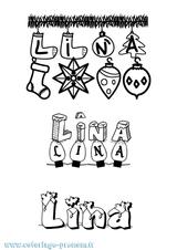 Imprimer le coloriage : Lina, numéro 53f62fd3