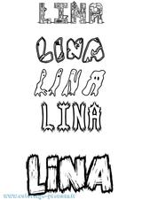 Imprimer le coloriage : Lina, numéro aa8ce4d0