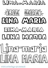 Imprimer le coloriage : Lina, numéro c9a85d82