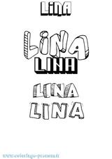 Imprimer le coloriage : Lina, numéro d8ed33ef