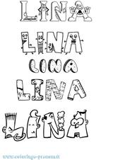 Imprimer le coloriage : Lina, numéro ed45cb10