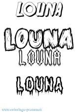 Imprimer le coloriage : Louna, numéro 1239ba80