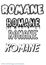 Imprimer le coloriage : Romane, numéro 5bcd4f19