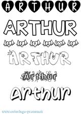 Imprimer le coloriage : Arthur, numéro 3aa36a4e
