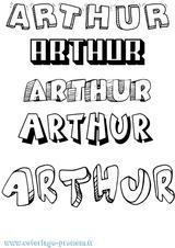 Imprimer le coloriage : Arthur, numéro a54c7724