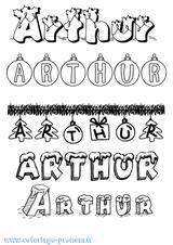Imprimer le coloriage : Arthur, numéro f7764ef