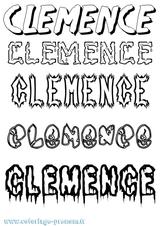 Imprimer le coloriage : Clément, numéro 2a16d31d