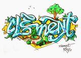 Imprimer le dessin en couleurs : Clément, numéro 6ccd4601