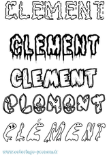 Imprimer le coloriage : Clément, numéro bf94d9ea